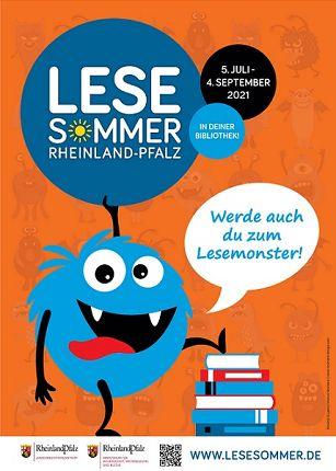 Plakat Lesesommer